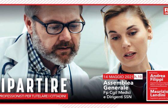 Sanità: Fp Cgil Medici, 14 maggio assemblea nazionale con Landini