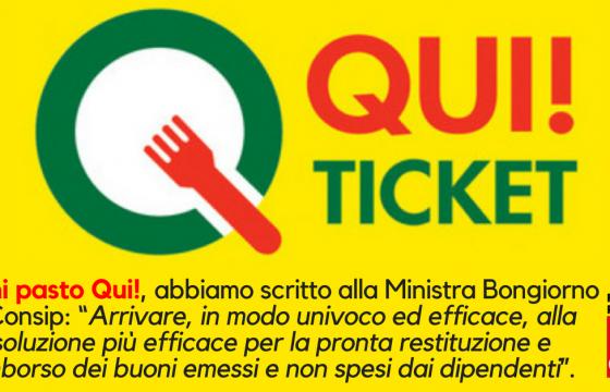Pa: Fp Cgil a Bongiorno e Consip, serve soluzione per buoni pasto Qui!
