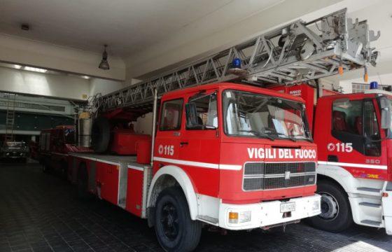 VVF: Roma – Assenza di autoscale
