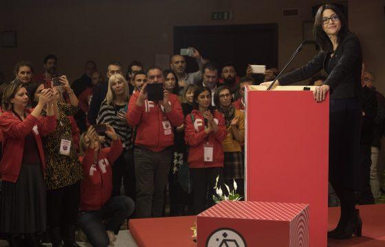 Cgil: Serena Sorrentino rieletta Segretaria Generale della Fp Cgil