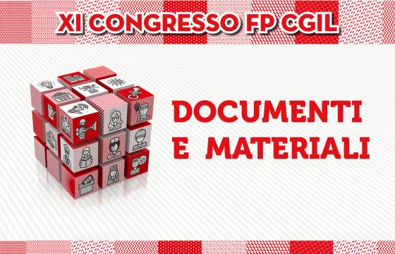 XI Congresso Fp: tutti i documenti e materiali