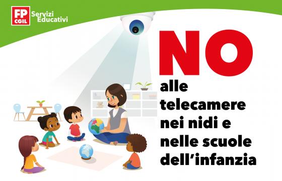 Infanzia: Fp Cgil, NO alle telecamere nei nidi e nelle scuole dell'infanzia