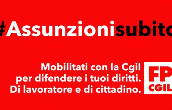 Fp Cgil a Bongiorno, sostegno a proposta comitato XXVII Ottobre su assunzione idonei