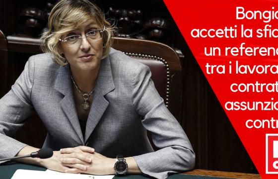 Sorrentino a Bongiorno, accetti la sfida: un referendum tra contratti e controlli