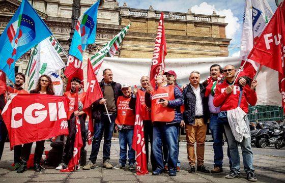 Difesa: Fp Cgil, oggi grande mobilitazione, Trenta risponda