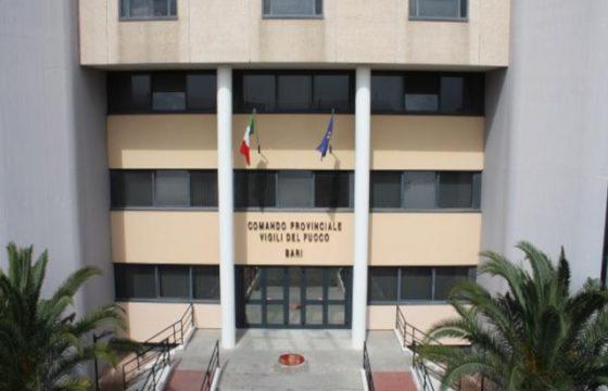 VVF: Bari – Proclamato lo stato d'agitazione