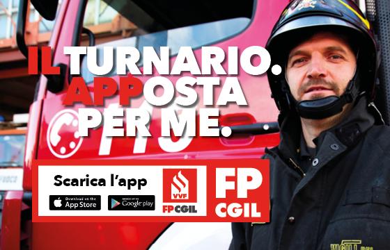 Fp Cgil, on line la nostra app 'Il Turnario' per i Vigili del Fuoco