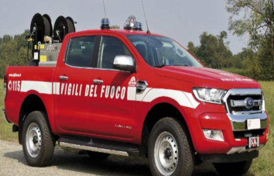 VVF: richiesta apertura tavolo tecnico e chiarimenti sulla formazione dell'utilizzo fuoristrada Ford Ranger Limited FR 35