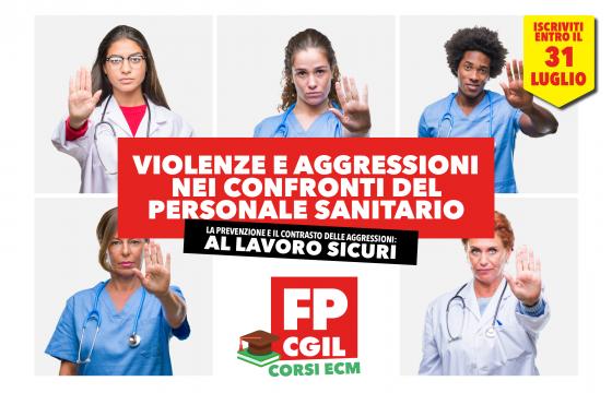 Violenze e aggressioni, ancora pochi giorni per Ecm Fad per professioni sanitarie, medici e assistenti sociali