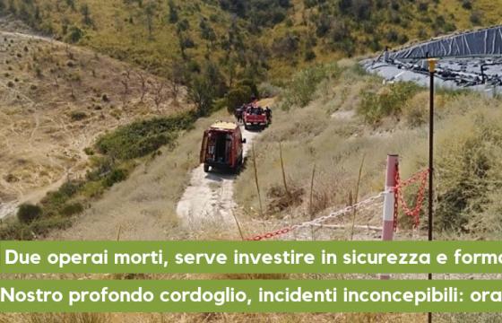 Due operai morti, serve investire in sicurezza e formazione