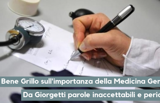Fp Cgil Medici, bene Grillo su medicina generale