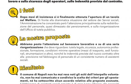 Un assistente sociale ogni 7 mila abitanti: a Napoli gli operatori scioperano