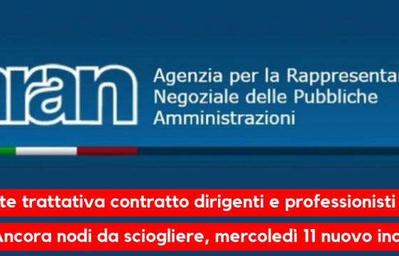 Fp Cgil, riparte trattativa contratto dirigenti e professionisti Stato