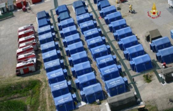 VVF: Direzione Centrale dell'Emergenza il Soccorso Tecnico e l'Antincendio Boschivo – EM 1/2020 Piattaforma web dotazioni logistiche di Colonna Mobile