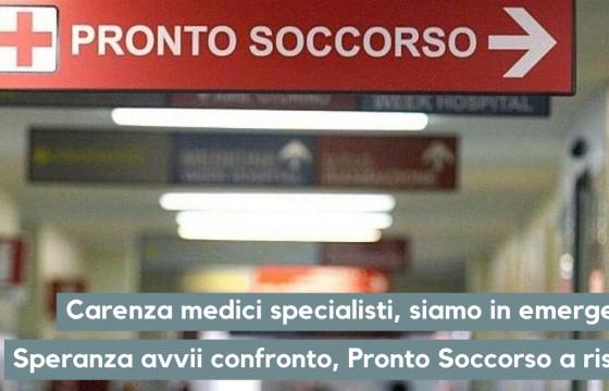Sanità: Fp Cgil Medici, carenza specialisti, Speranza avvii confronto