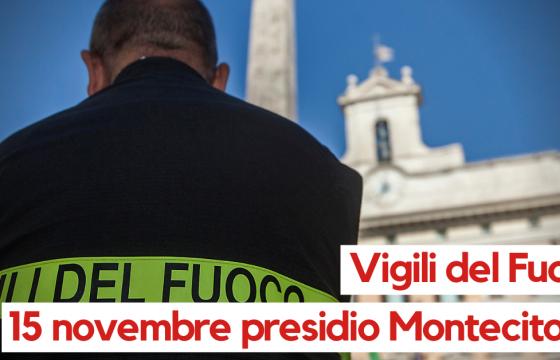 Vigili del Fuoco: Fp Cgil, domani presidio a Roma per diritti e salario