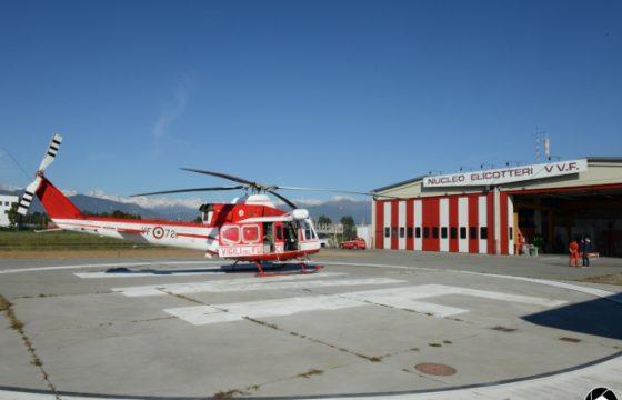 VVF: Direzione Centrale per l'Emergenza, il Soccorso Tecnico e l'Antincendio Boschivo – Risposta Reparto volo di Torino