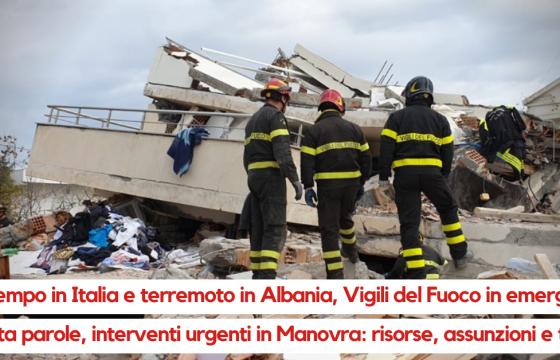 Servono maggiori risorse in Manovra per Vigili del Fuoco