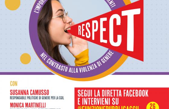 Donne, domani a Roma iniziativa Respect su importanza parola