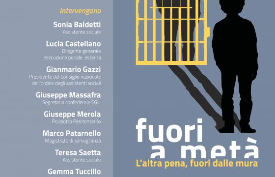 Fp Cgil, 29 gennaio a Roma iniziativa su esecuzione penale esterna