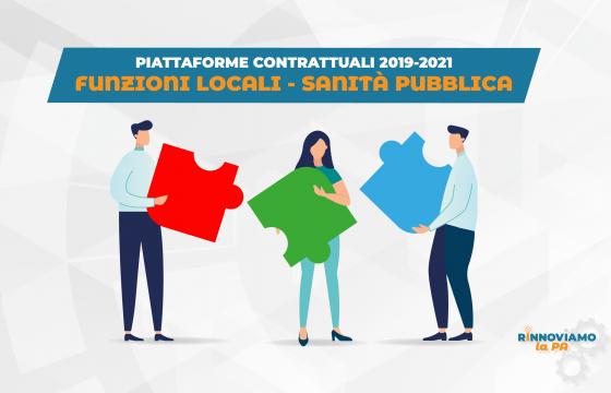 Contratti, le piattaforme per i rinnovi di Funzioni Locali e Sanità
