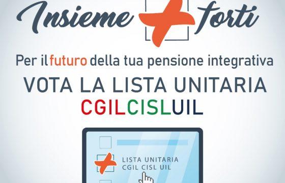 Pensioni: Cgil Cisl Uil, da 4 a 6 marzo elezioni Assemblea Fondo Perseo Sirio