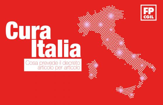 Coronavirus, scarica il documento della Fp Cgil al decreto 'Cura Italia'