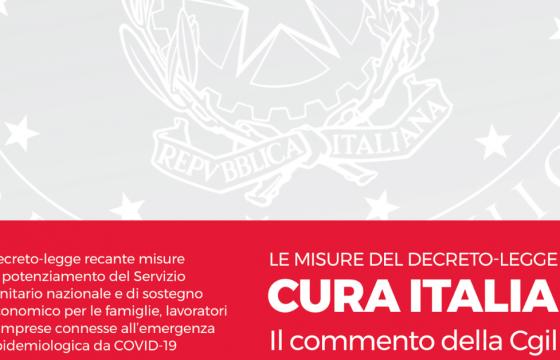 Coronavirus, il commento della Cgil al decreto 'Cura Italia'