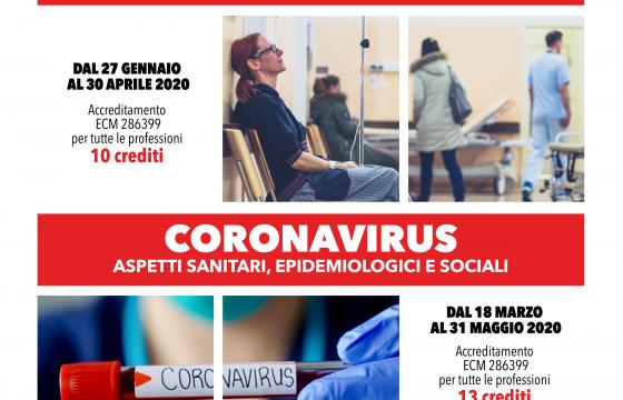 Fp Cgil, on line due corsi Ecm Fad: Pronto Soccorso e Coronavirus