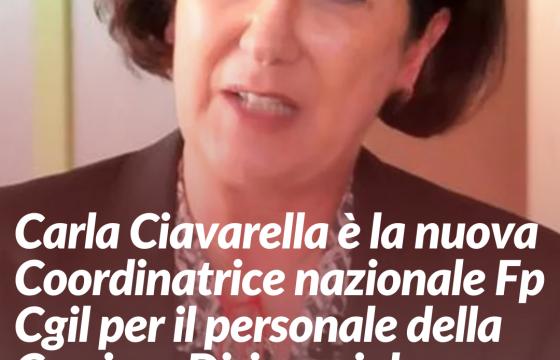 Carla Ciavarella nuova Coordinatrice Nazionale Fp Cgil per il personale della Carriera Dirigenziale Penitenziaria