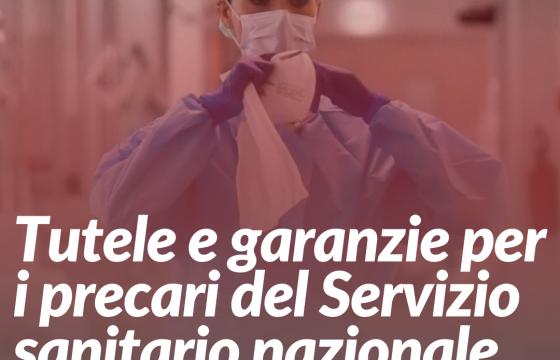 Dl Rilancio: Cgil Cisl Uil Fp chiedono tutele e garanzie per i lavoratori precari del SSN