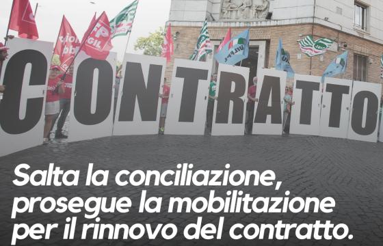 Salta conciliazione, confermata mobilitazione per rinnovo contratti Sanità Privata e Rsa