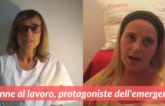 Donne al lavoro, protagoniste dell'emergenza