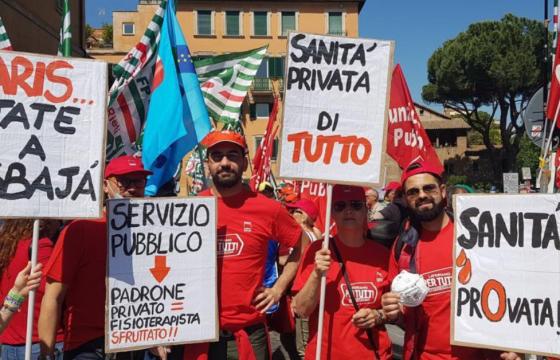 Proclamiamo lo sciopero nazionale per mancata ratifica sanità privata