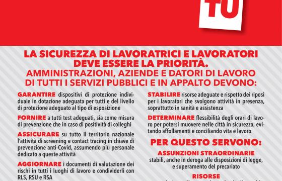 #sicuroIOsicuroTU: la sicurezza deve essere la priorità