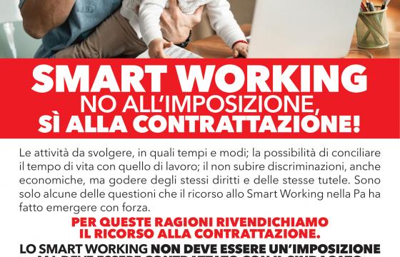 Smart Working: NO all'imposizione, SÌ alla contrattazione