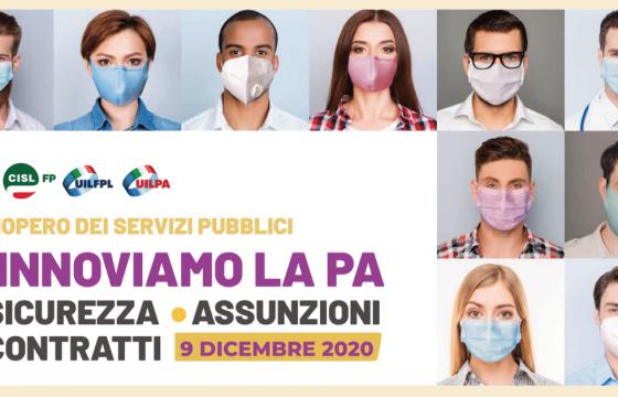 La Solidarietà Internazionale per lo Sciopero delle Lavoratrici e dei Lavoratori Pubblici del 9 dicembre 2020