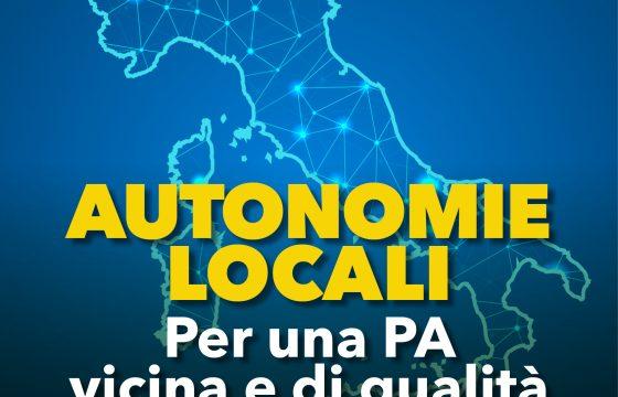 Autonomie Locali: per una Pa vicina e di qualità