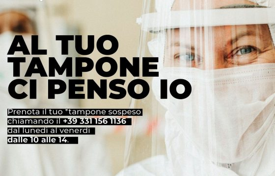 Nonna Roma e Fp Cgil lanciano iniziativa 'Al tuo tampone ci penso io'