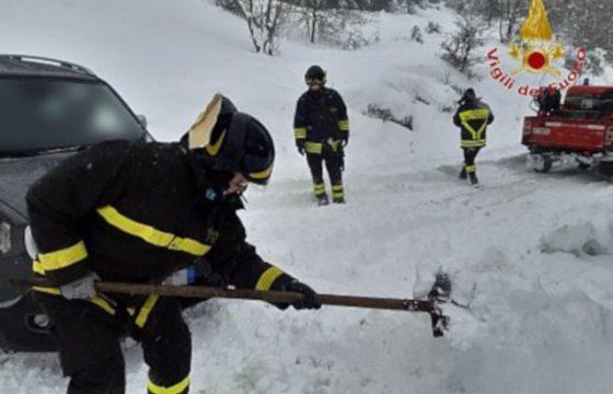 VVF: Marche – Formazione sperimentale neve e ghiaccio nota unitaria Fp Cgil VVF, Fns Cisl, Uil Pa VVF e Confsal VVF