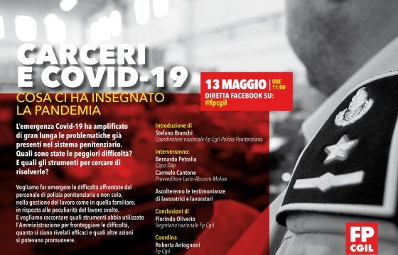 Carceri: Fp Cgil, domani diretta Facebook con Petralia su Covid-19