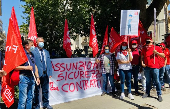 Carceri: Fp Cgil, in piazza grido d'allarme Polizia Penitenziaria