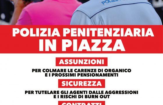 Carceri: Fp Cgil, domani a Roma presidio Polizia Penitenziaria