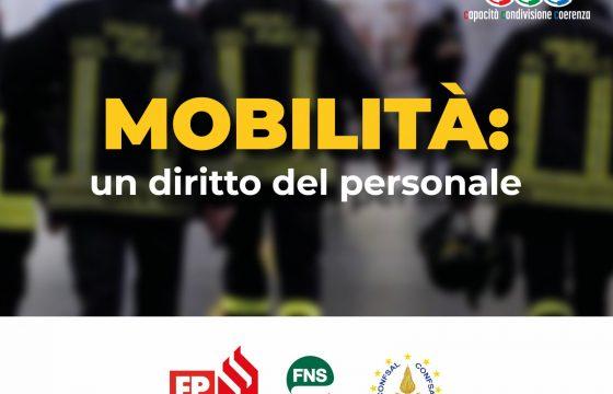 VVF: Mobilità del personale – resoconto incontro