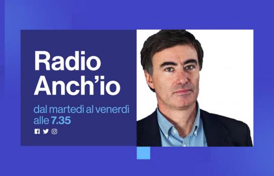 Green pass, vaccini e smart working, Sorrentino a Radio Anch'io